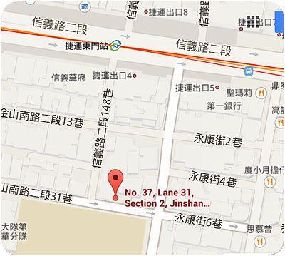 東門餃子館地図