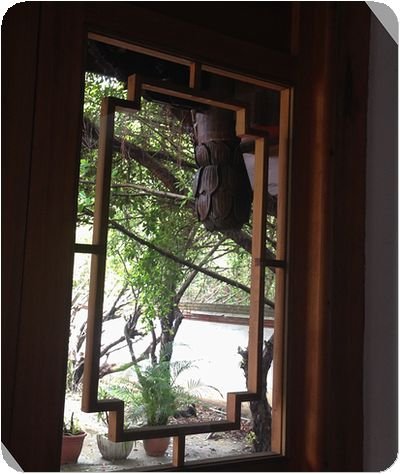 林安泰古厝小学窓