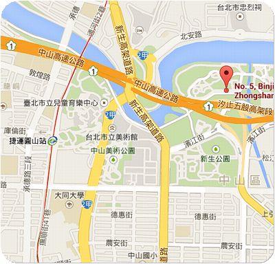 林安泰古厝家地図