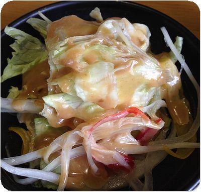 小林食堂サラダ