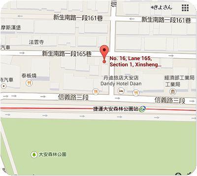 小林食堂地図