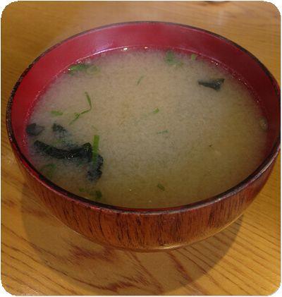 小林食堂味噌汁