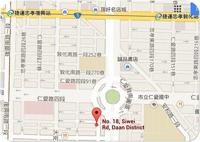 京兆尹地図