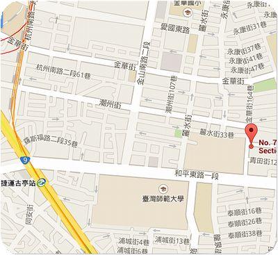 向日葵餐廳地図