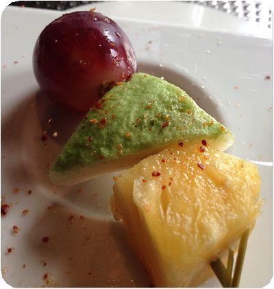 泰板燒前菜果物