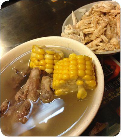蘇記スープとご飯