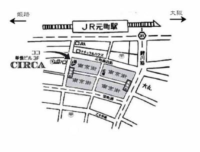 map of circa 2