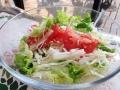 白菜入りサラダ