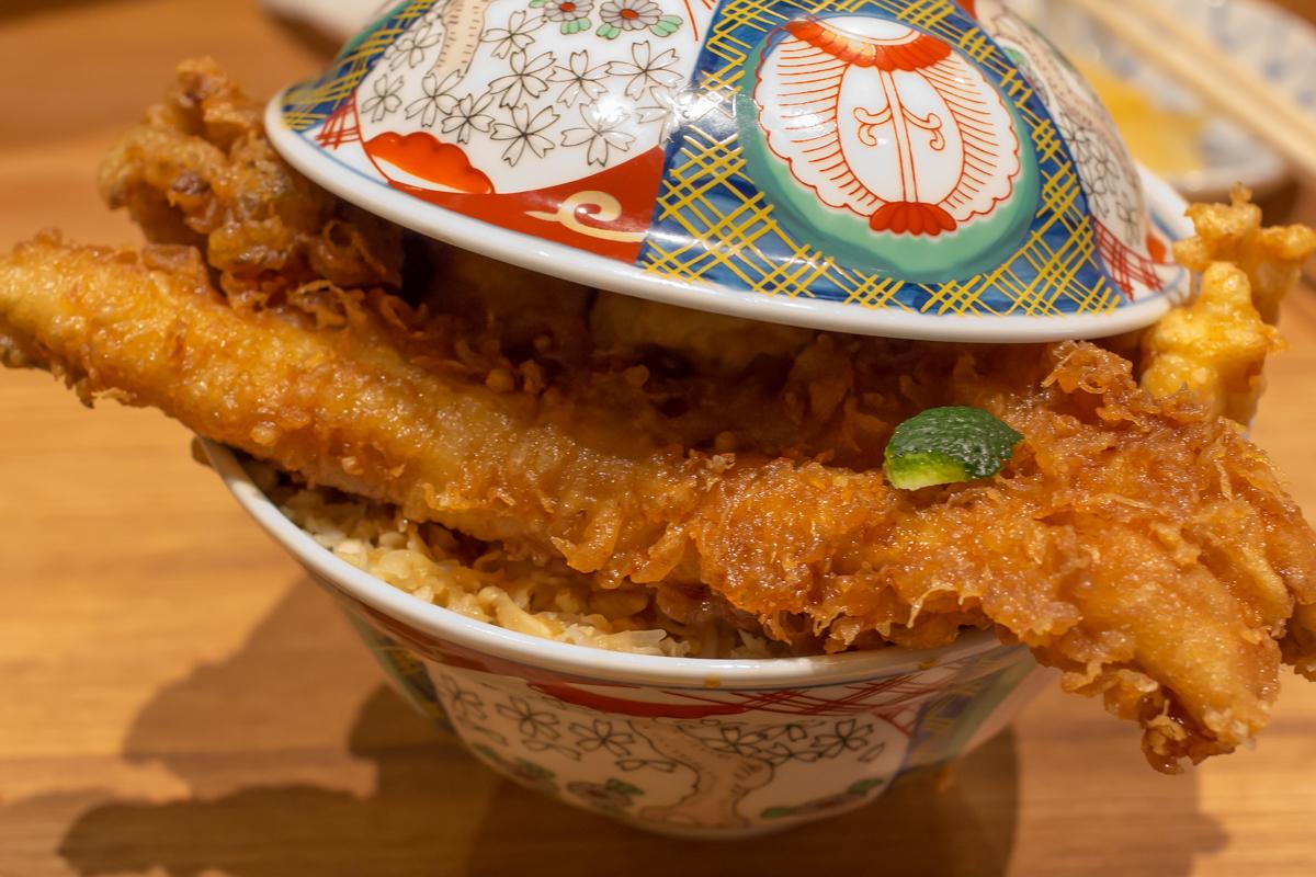 天丼金子屋の上天ばら丼(4)