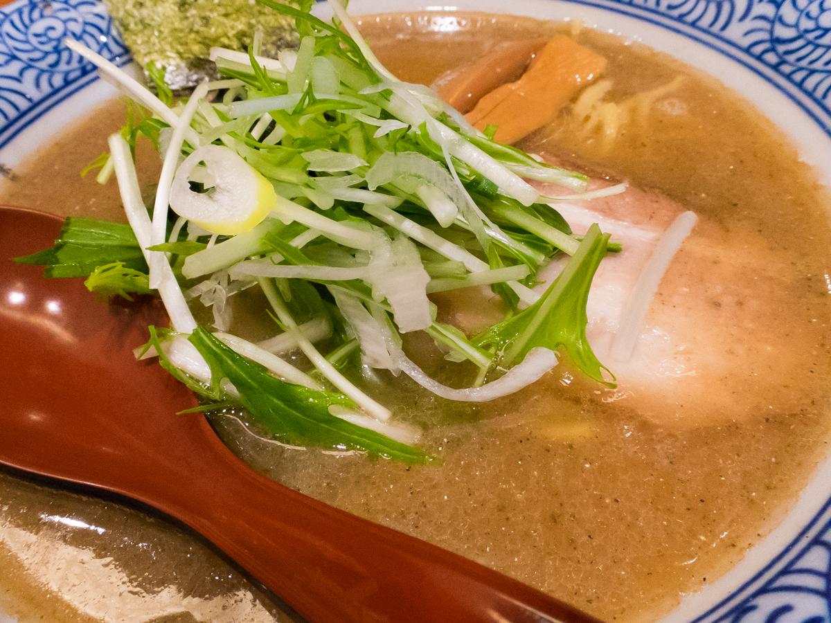 赤坂麺処友 あごだし醤油(2)