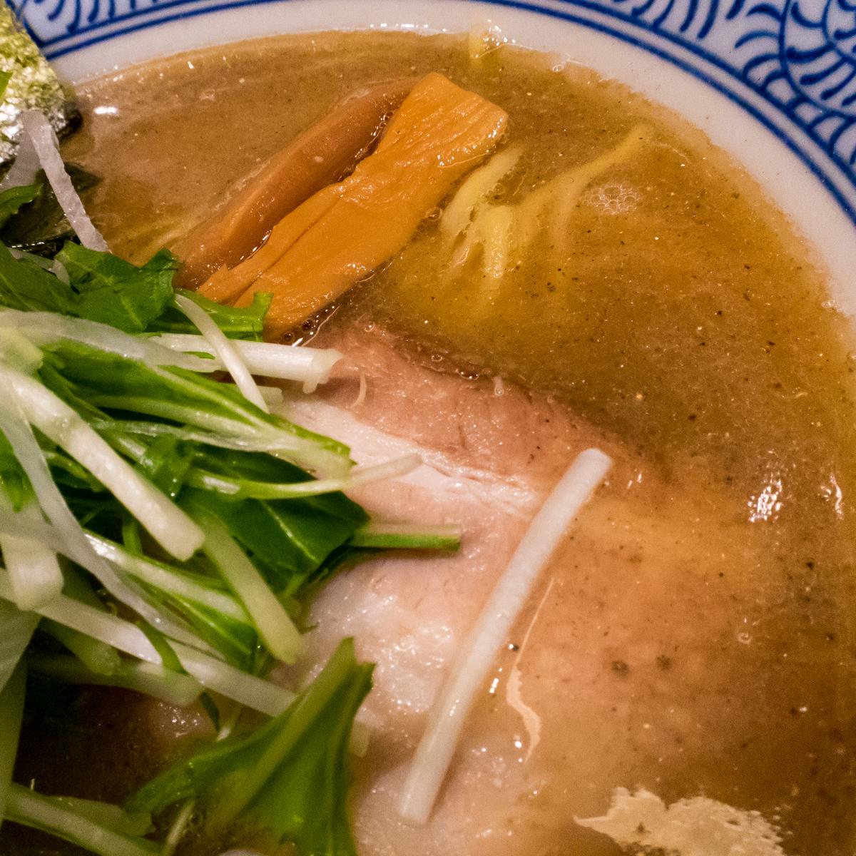 赤坂麺処友 あごだし醤油(3)