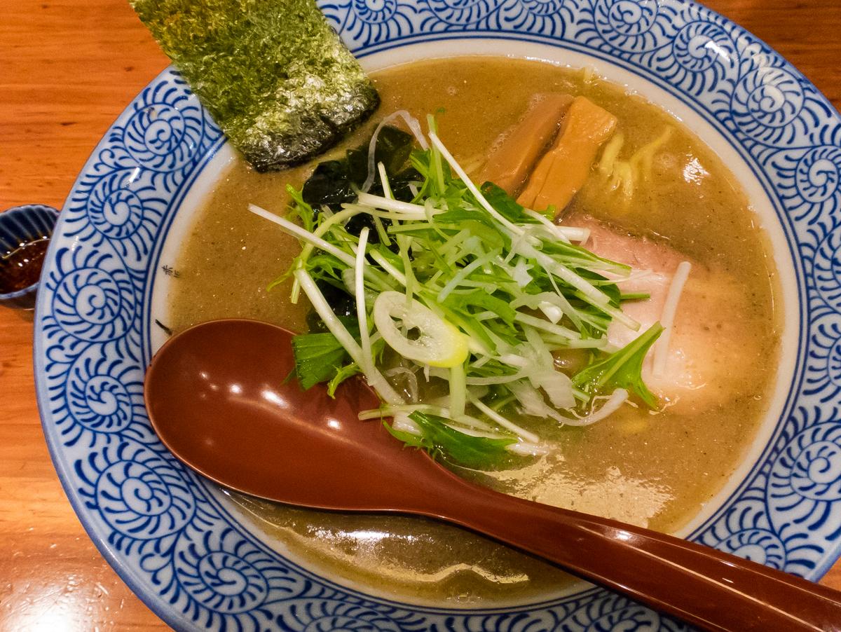 赤坂麺処友 あごだし醤油(4)
