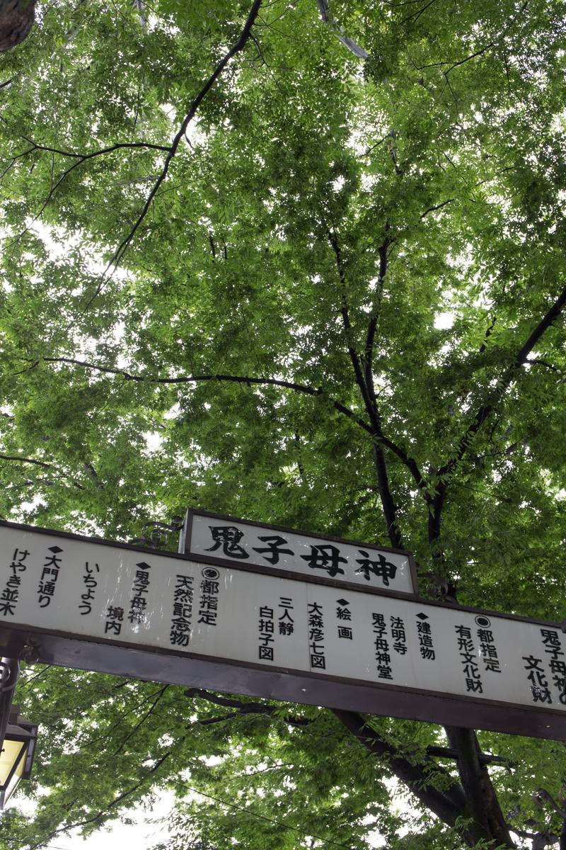 鬼子母神周辺散策(1)