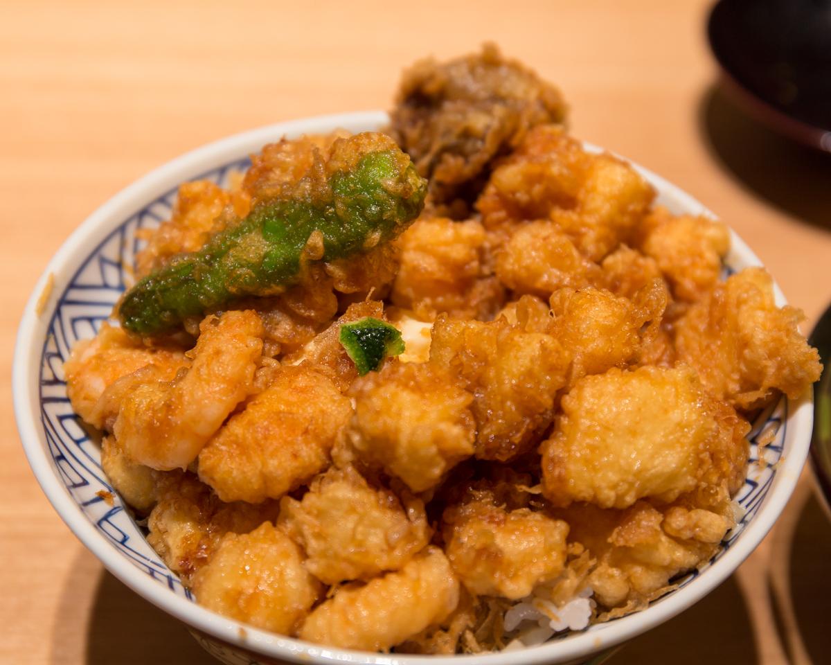 天丼金子屋赤坂店(10)