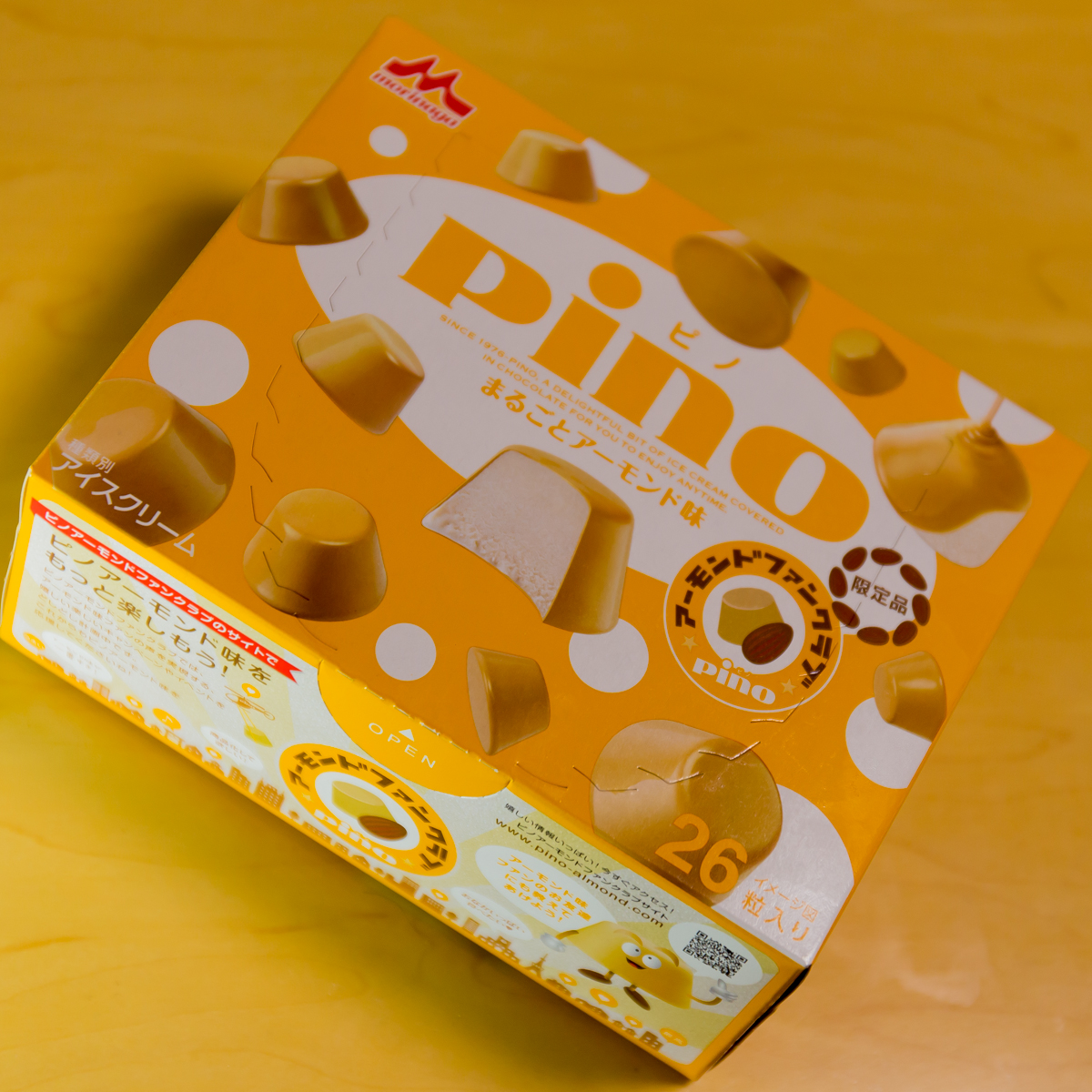 「pino(ピノ) まるごとアーモンド味」(メインイメージ)