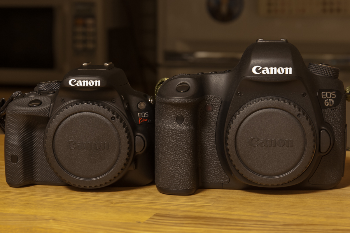 EOS 6DとKiss X7(1)