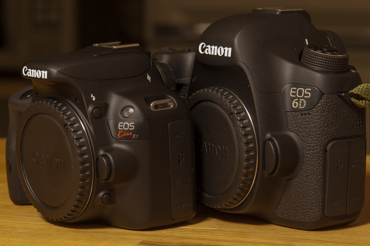 EOS 6DとKiss X7(2)