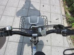 川上さんの自転車