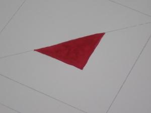 真ん中の三角
