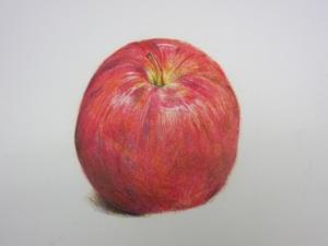 リンゴ色鉛筆8
