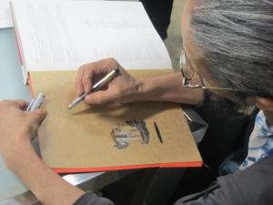 森本晃司サイン会2