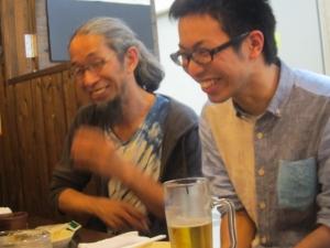 森本晃司先輩の隣1