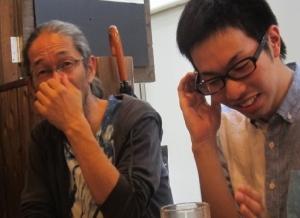 森本晃司先輩の隣5