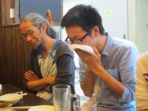 森本晃司先輩の隣4
