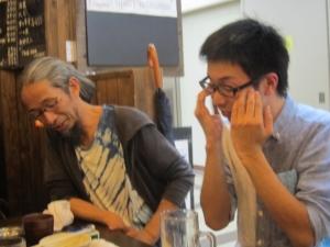 森本晃司先輩の隣3