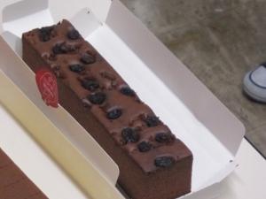 オランダケーキココア味のカステラ