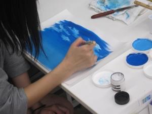 アニメの空と雲2