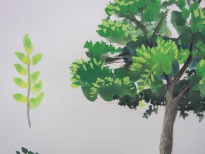 アニメの木の描き方