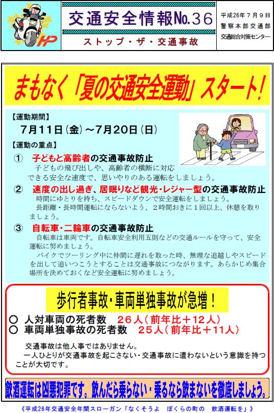 夏の交通安全3