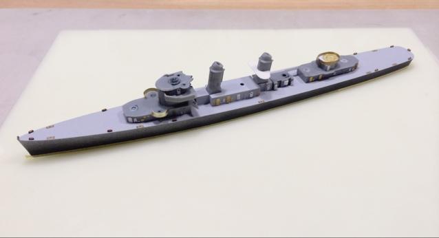 フレッチャー級駆逐艦 - 艦船模型製作工房 大磯海軍工廠