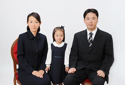 受験用家族写真 見本