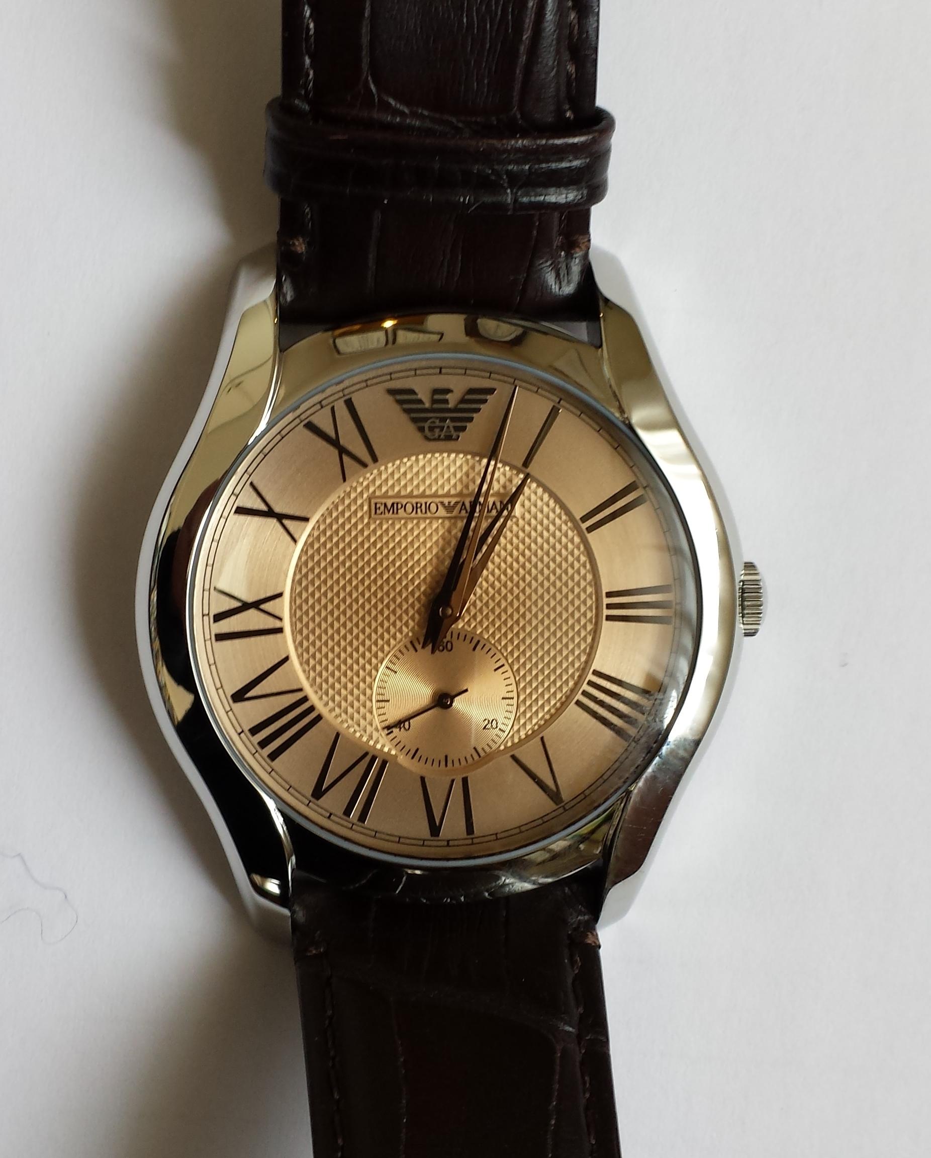 1人息子にもらった時計140222