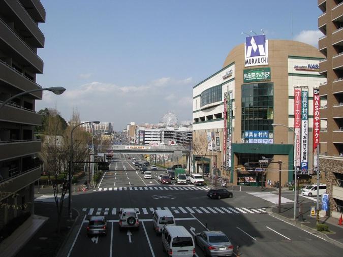 横浜にある「港北ニュータウン」一帯も旧地名がヤバいらしい