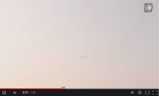 【動画】 ウクライナ上空に出現したUFO