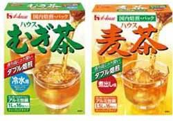 むぎ茶(冷水用)麦茶(煮出し用)