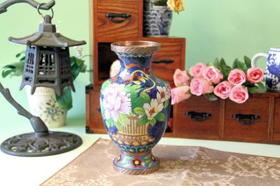 七宝焼き花瓶