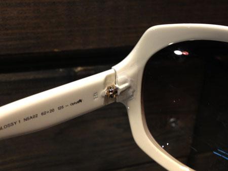 Dior サングラス めがね メガネ 丁番 テンプル 折れ 修理 新潟 東京 大阪 名古屋 長岡 三条 見附 上越 柏崎 南魚沼