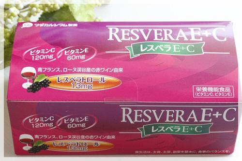 レスベラE+C ワダカルシウム製薬 レスベラトロール ビタミンC ビタミンE
