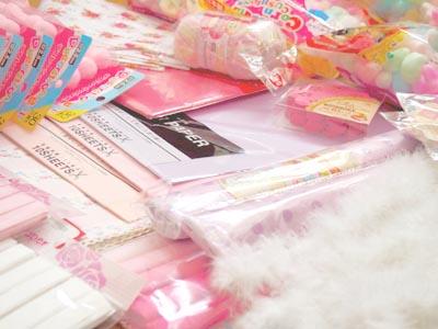 2014おひなさま飾り付け材料たち