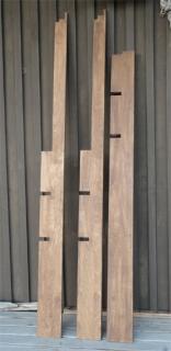 201405 本棚縦材塗装の乾燥