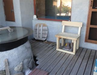 201407 あり材で椅子を作ってみた2