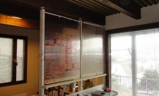201407 ポリカ仕切り壁をセット
