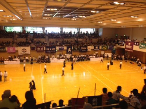 剣道の試合風景