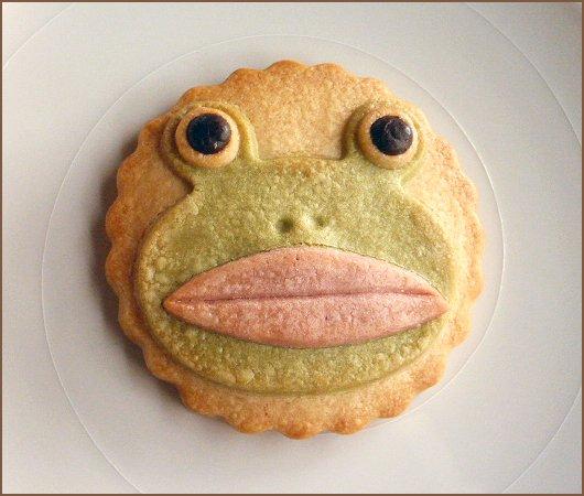 蛙クッキー+枠