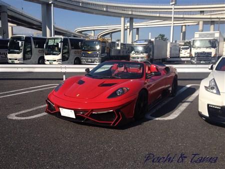 フェラーリ F430 スパイダー①