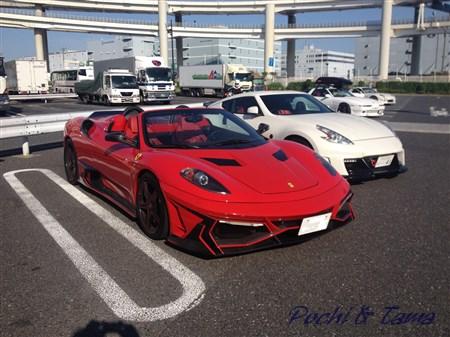 フェラーリ F430 スパイダー②